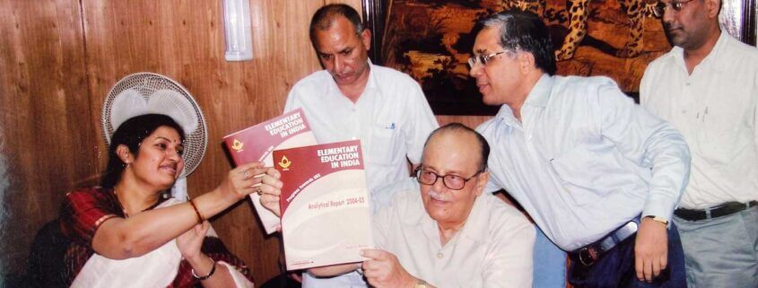 Release of DISE publications by Mr. Arjun Singh, Union HRM